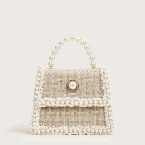 SHEIN Bags - BRAND NEW Beige Pearl purse with chain